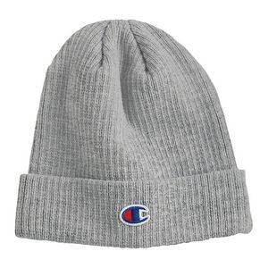 Champion� Ribbed Beanie (Embroidery)